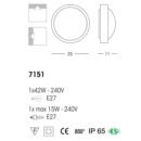 Välisvalgusti Plaf, IP65