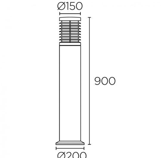 Pollarvalgusti Nott, 16,5W/517lm led, IP65