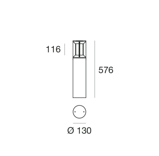 Pollarvalgusti Pilos, 3000K, IP65
