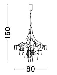 Rippvalgusti Goro, 20W/2000lm led, 3000K