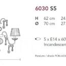 Lühter Antika 6030
