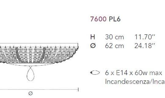 Laevalgusti Noblesse 7600