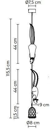 Rippvalgusti Sherwood E Robin, E27 sokliga