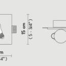 Süvistatav valgusti Idea, G9 sokliga