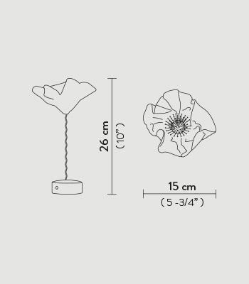 Lauavalgusti Slamp, 1,3W/150lm led