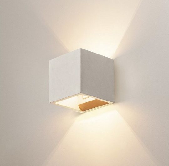 Seinavalgusti SLV Solid Cube