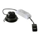 slv New-Tria-68-LED-Round-Black