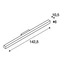 Seinavalgusti Q-line, 42W/3800lm 3000K led