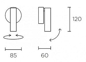 Seina/laevalgusti Stylus, 7,5W/730lm Led