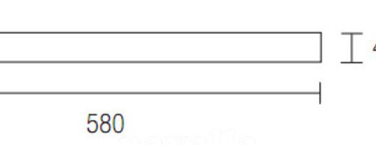 Vannitoavalgusti Toilet Q 10/16W LED, IP44