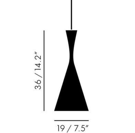 Rippvalgusti Beat Tall, 33W G9