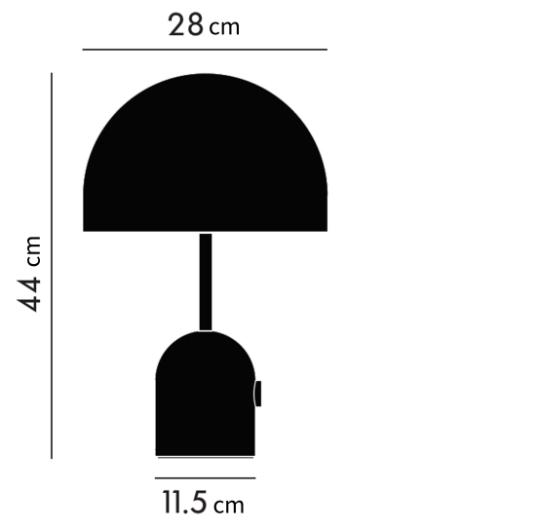 Lauavalgusti Bell, 60W E27