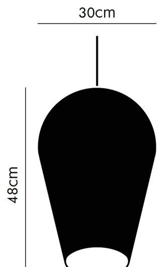 Rippvalgusti Fade 50, 42W E27