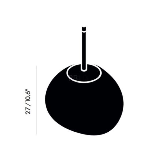 Rippvalgusti Melt Mini, 25W E14