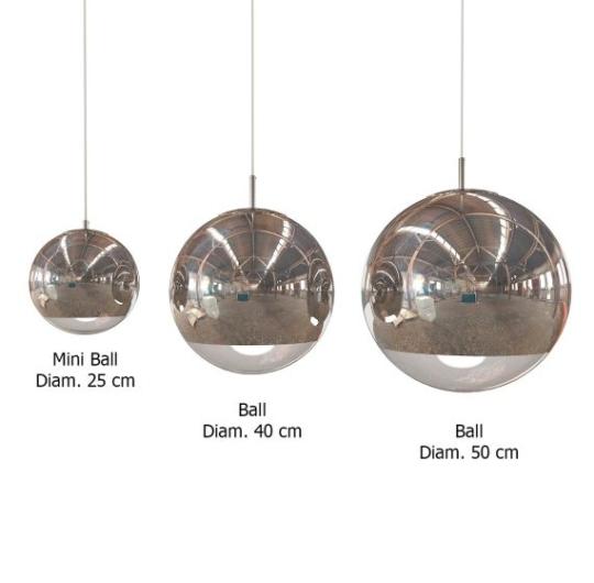 Rippvalgusti Mirror Ball