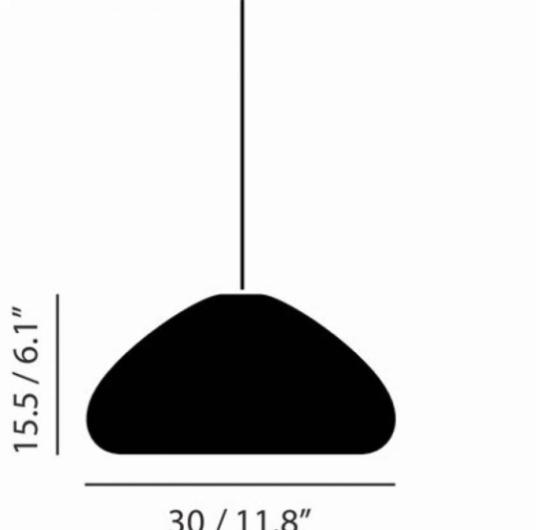 Rippvalgusti Void, 33W G9