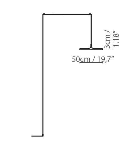 Rippvalgusti Bilancella, 38W/3000lm LED, 3000K