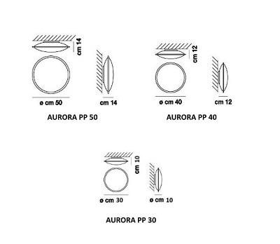 Lae/seinavalgusti Aurora, E27 sokliga