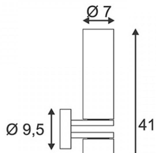 Niiskuskindel valgusti WL 106, IP44