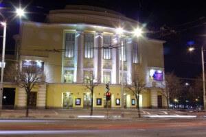 Фасад Национальной оперы Estonia