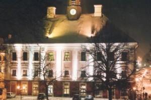 Фасад Тартуской ратуши