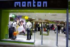 Магазин Monton в торговом центре Ülemiste