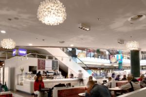Кафе Wayne's в торговом центре Viru Keskus