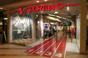 Магазин Sportland в торговом центре Ülemiste