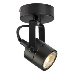 Spot 70 GU10 230V schwarz