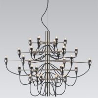 gino-sarfatti-chandelier-2097-by-flos-2097-30-brass-or-chrome-for-choice