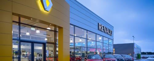 Автомагазин Renault в Таллинне