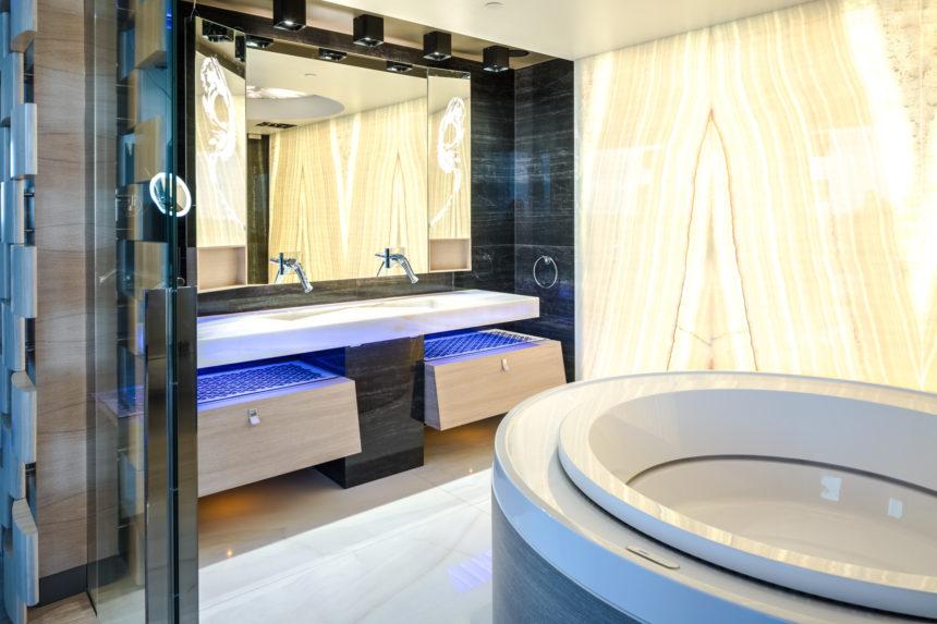 Hilton sviidi vannituba