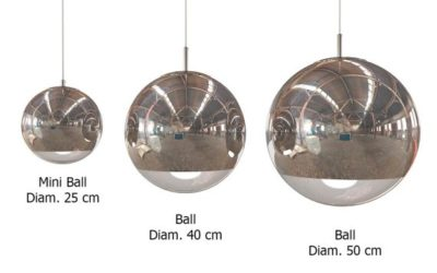 Tom Dixon Mirror Ball mbb50 data sheet