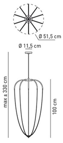 Axolight Alysoid SPALY51P data sheet