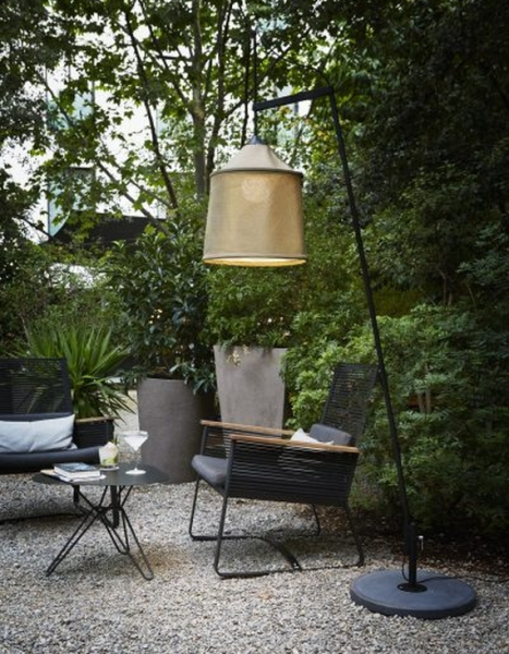 MARSET Jaima floor lamp outdoors