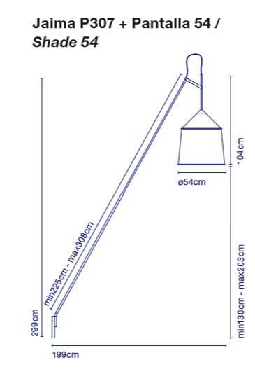 Marset Jaima P 307 floorlamp
