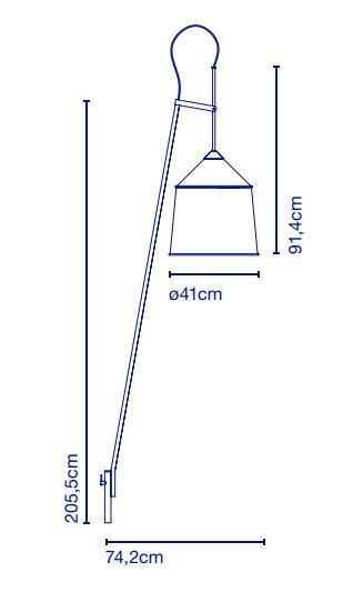 Marset Jaima data sheet wall lamp