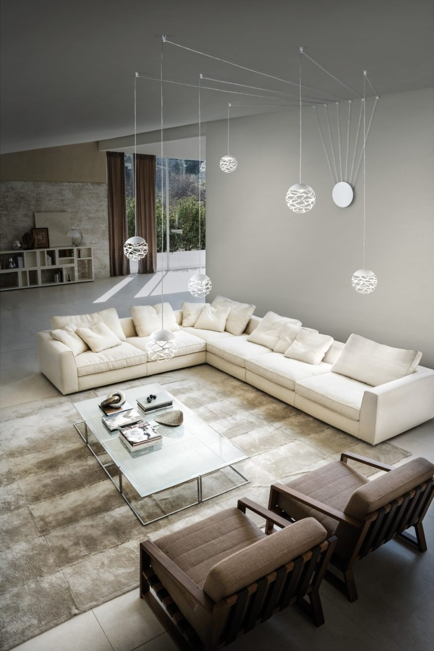 Studio Italia Design Kelly_Cluster_19 valgustusideed