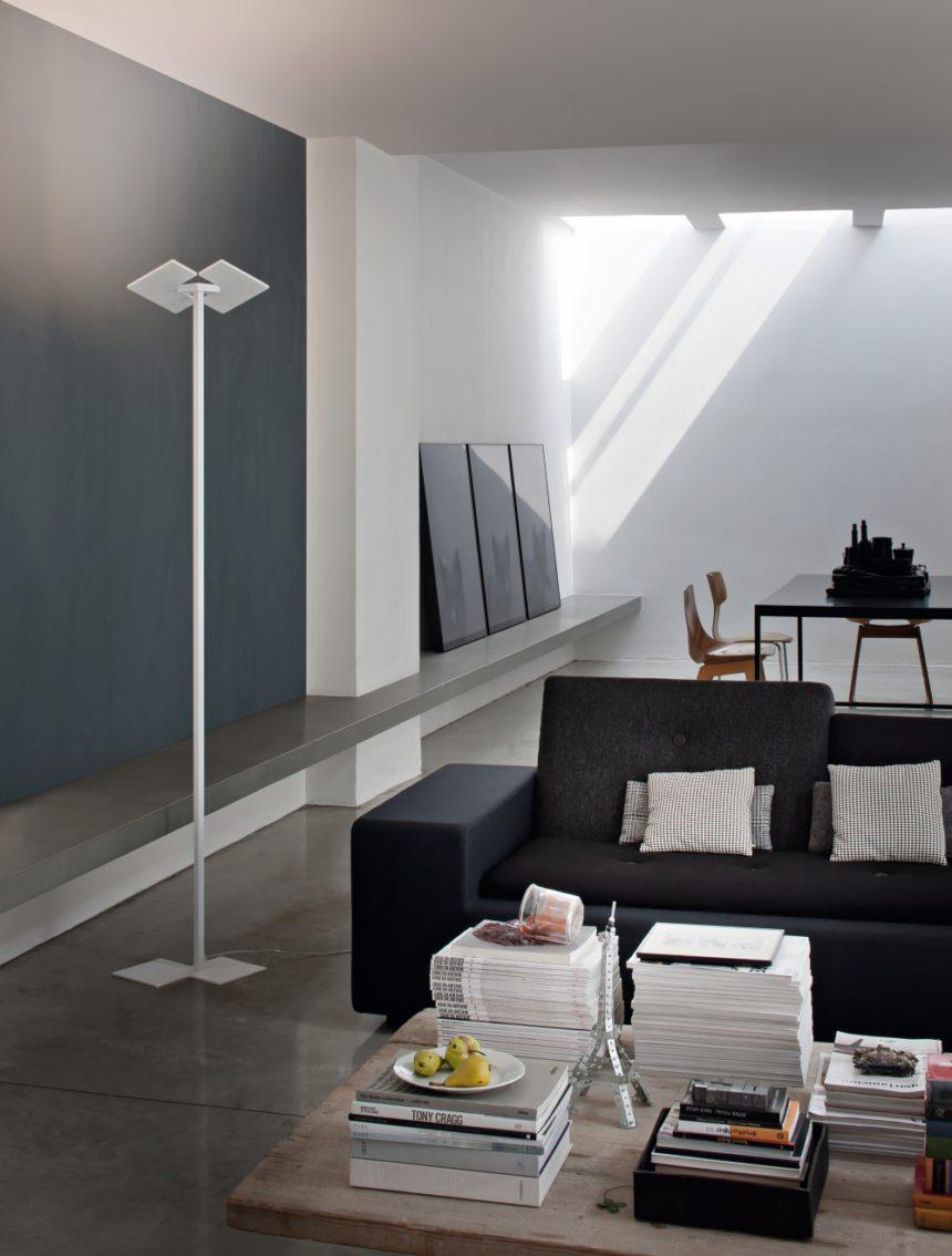 Studio Italia Design Puzzle_Twist põrandavalgusti valgustusideed