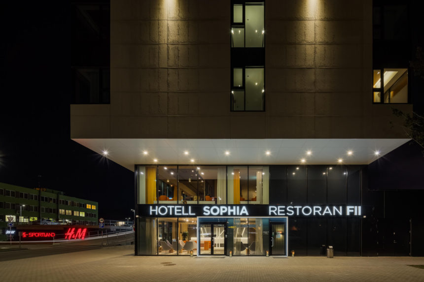 Hotell Sophia lighting by Hektor Light photo by MarisTomba 4