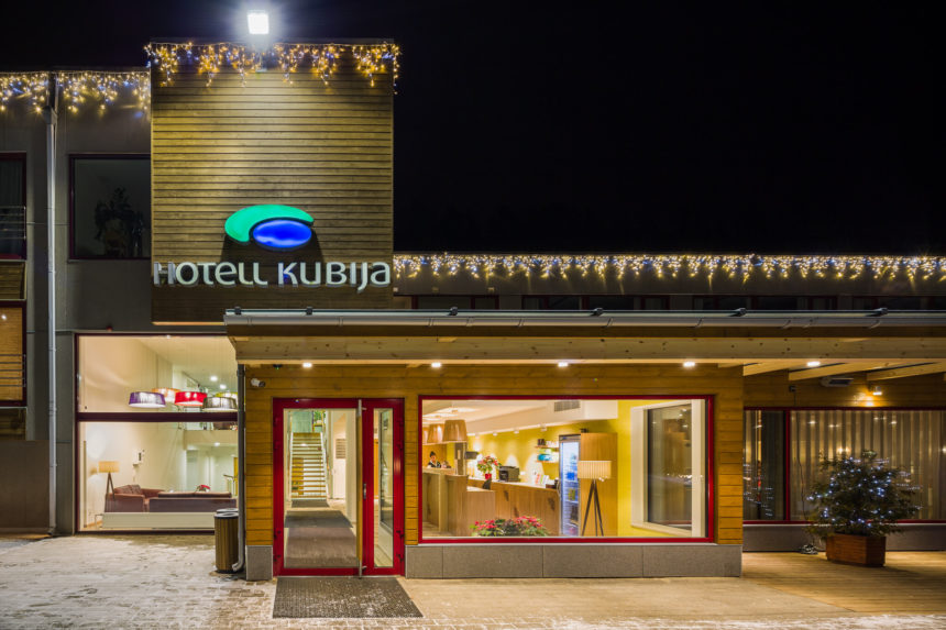 Kubija Hotell lighting by Hektor Light photo by MarisTomba