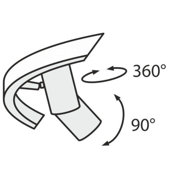 Rippvalgusti Maytoni Satellite detail