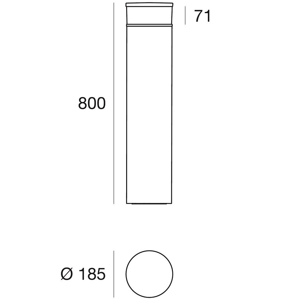 Pollarvalgusti Linealight Puro 64700 data sheet